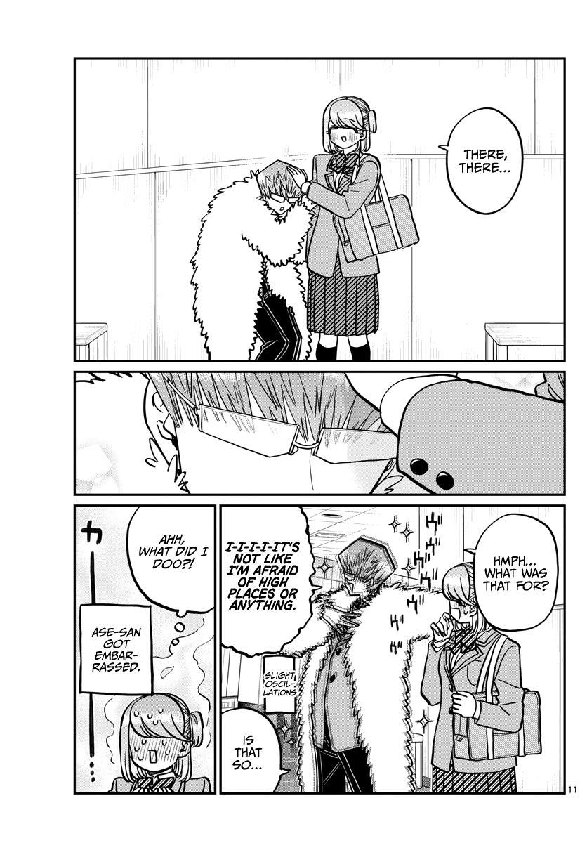 Komi-San Wa Komyushou Desu Chapter 290: Naruse-Kun And Ase-San 2 page 11 - Mangakakalot