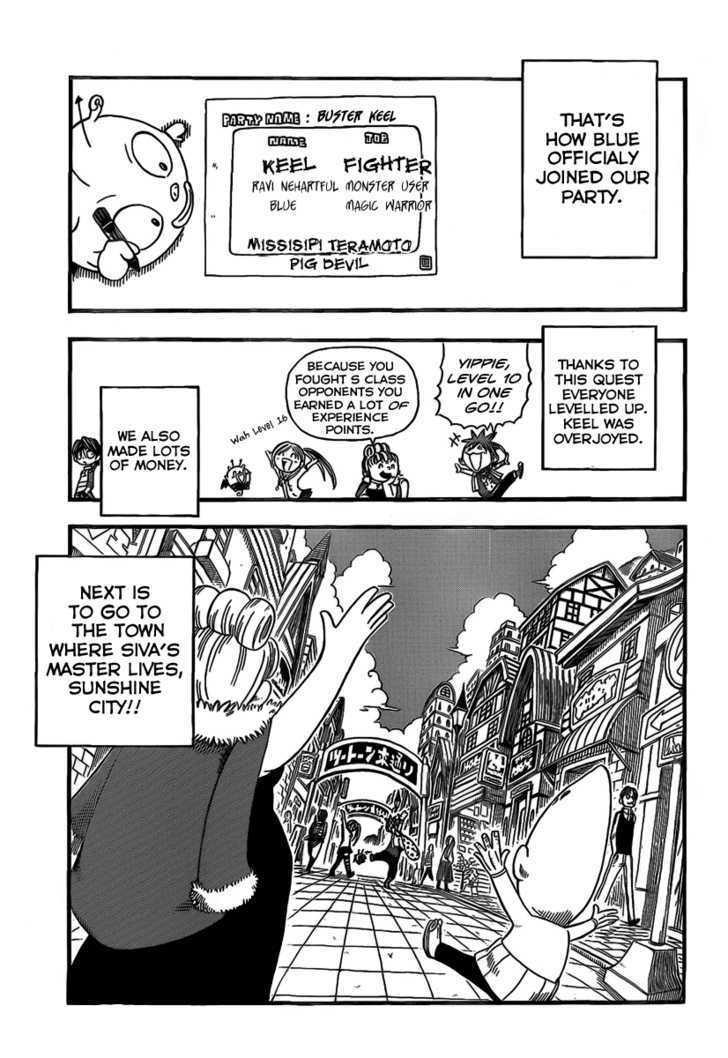 Buster Keel! Vol.2 Chapter 7 : Let Go!!! page 12 - Mangakakalots.com