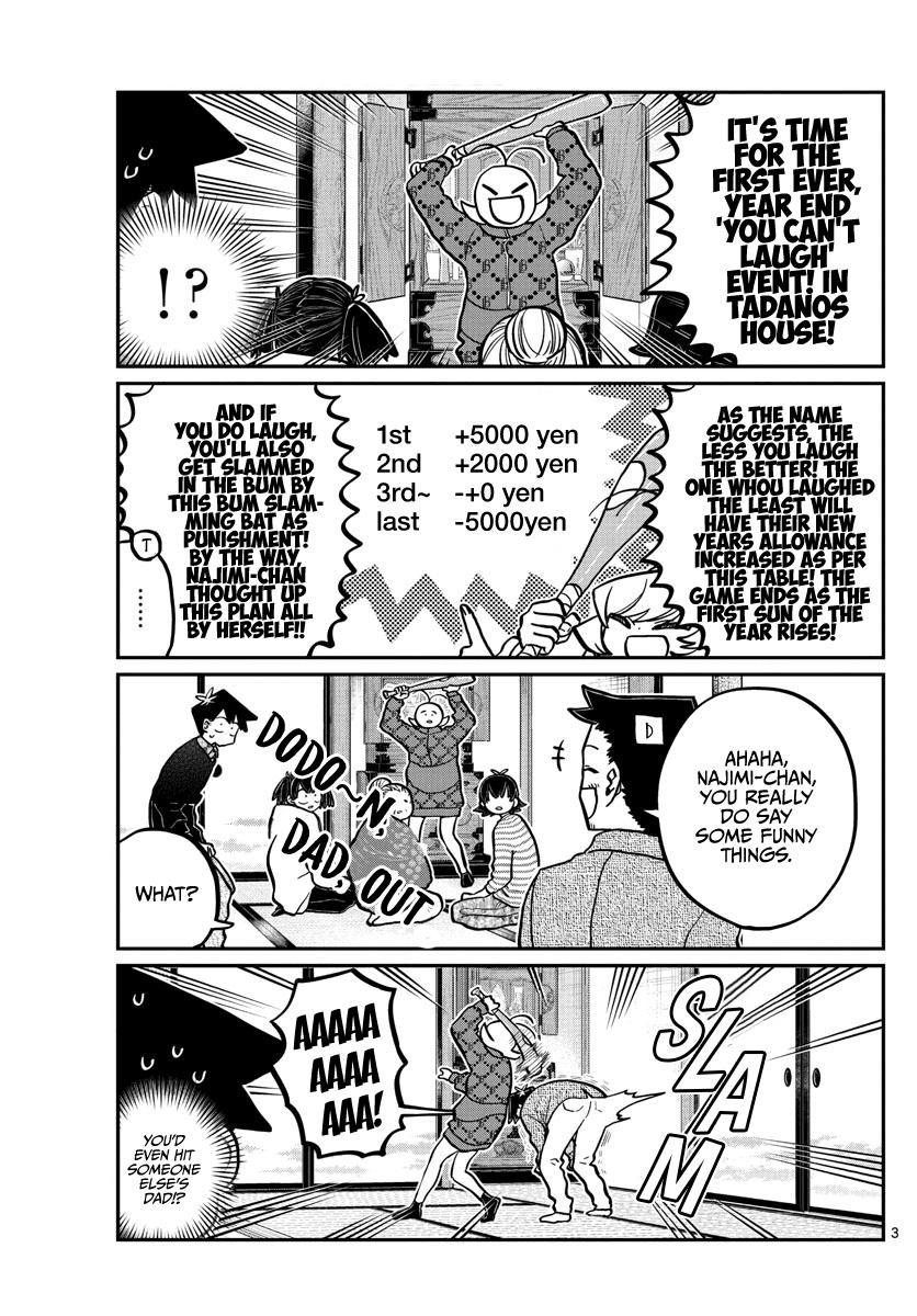 Komi-San Wa Komyushou Desu Chapter 274: End Of The Year You Can't Laugh At. page 3 - Mangakakalot