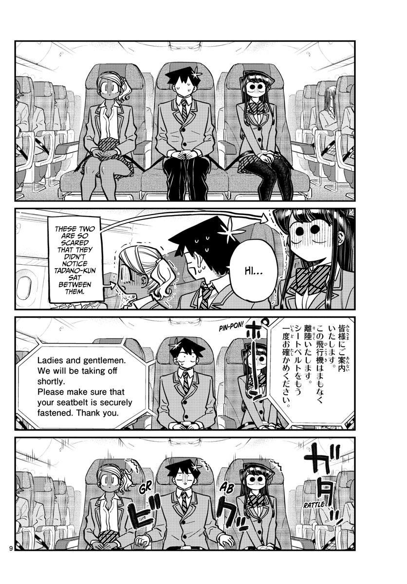 Komi-San Wa Komyushou Desu Chapter 278: Boarding page 9 - Mangakakalot