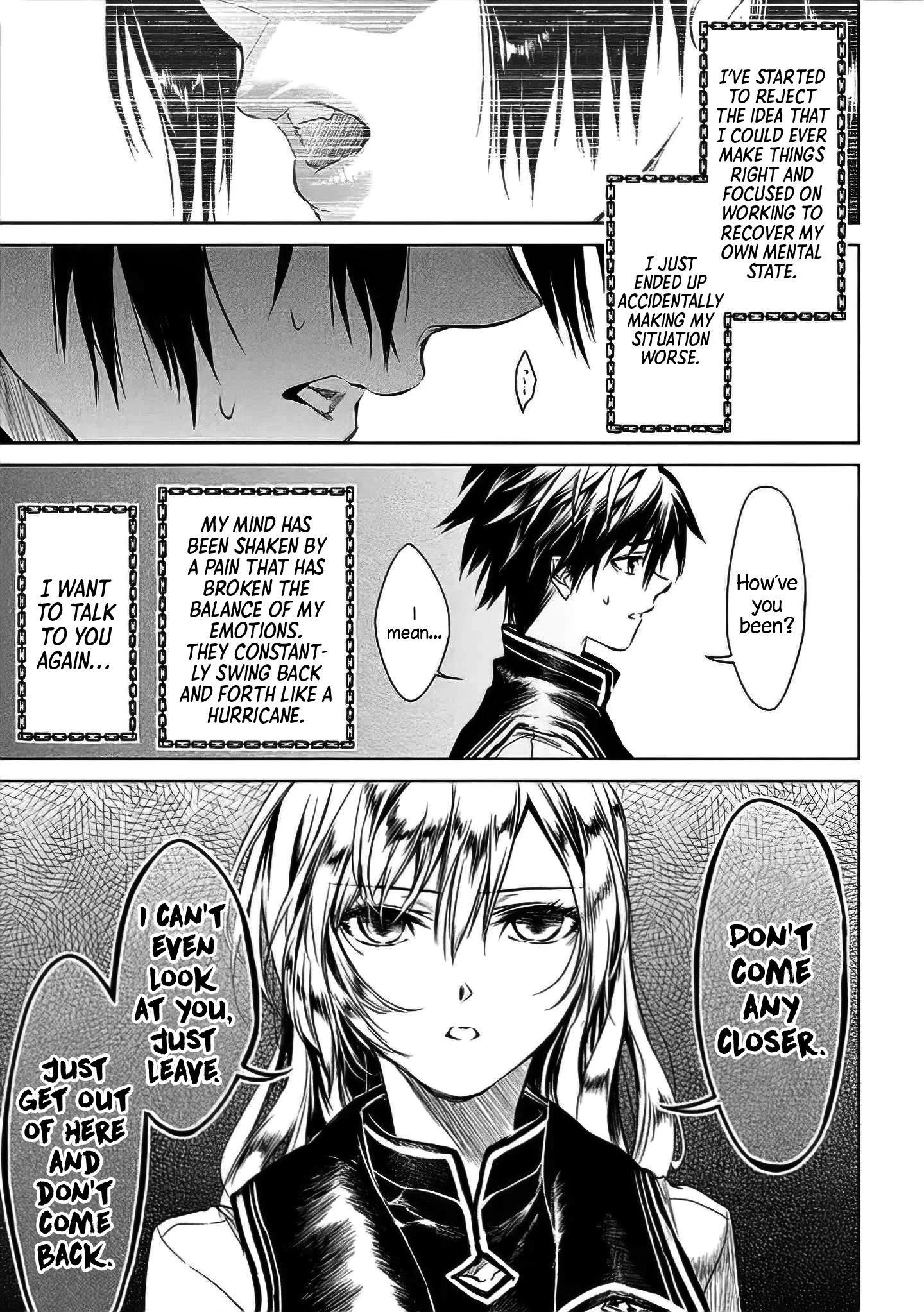 """Ryuu Kusari No Ori -Kokoro No Uchi No """"kokoro""""- Chapter 6 page 27 - Mangakakalots.com"""