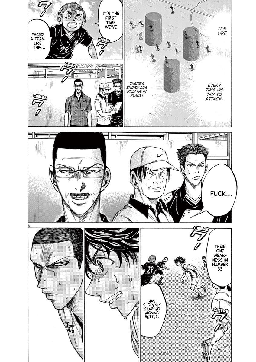 Ao Ashi Vol.13 Chapter 133: L page 9 - Mangakakalots.com