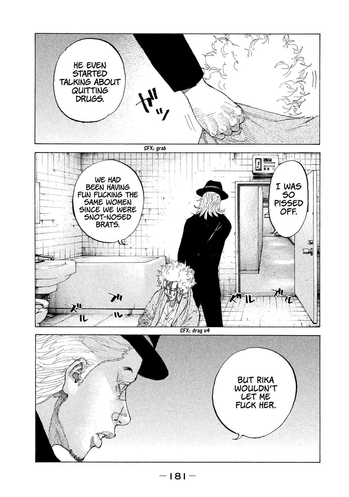 Shinjuku Swan Chapter 212: Fetish page 15 - Mangakakalots.com