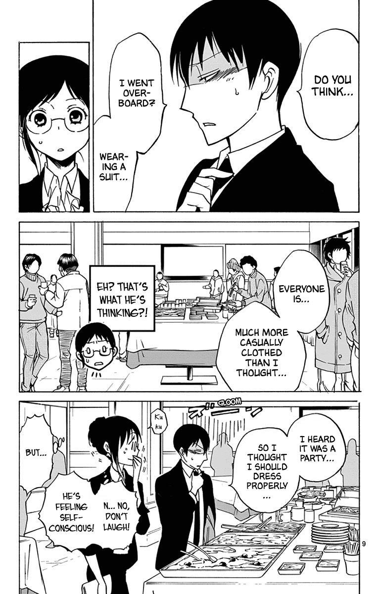 Dousei Sensei Wa Renai Ga Wakaranai. Chapter 12 page 9 - Mangakakalots.com