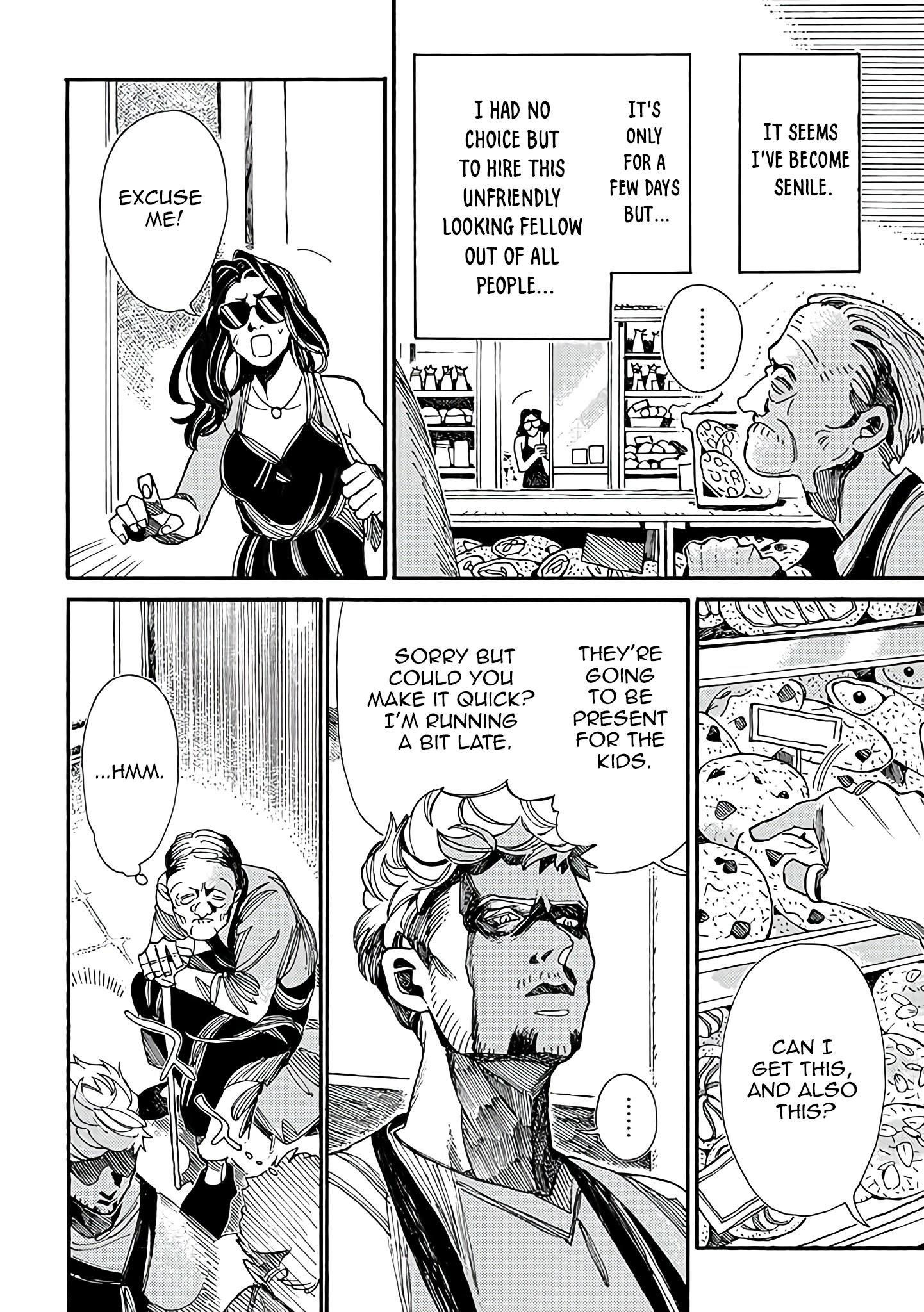 Assassin No Kyuujitsu Chapter 9: Part-Time Job page 5 - Mangakakalots.com