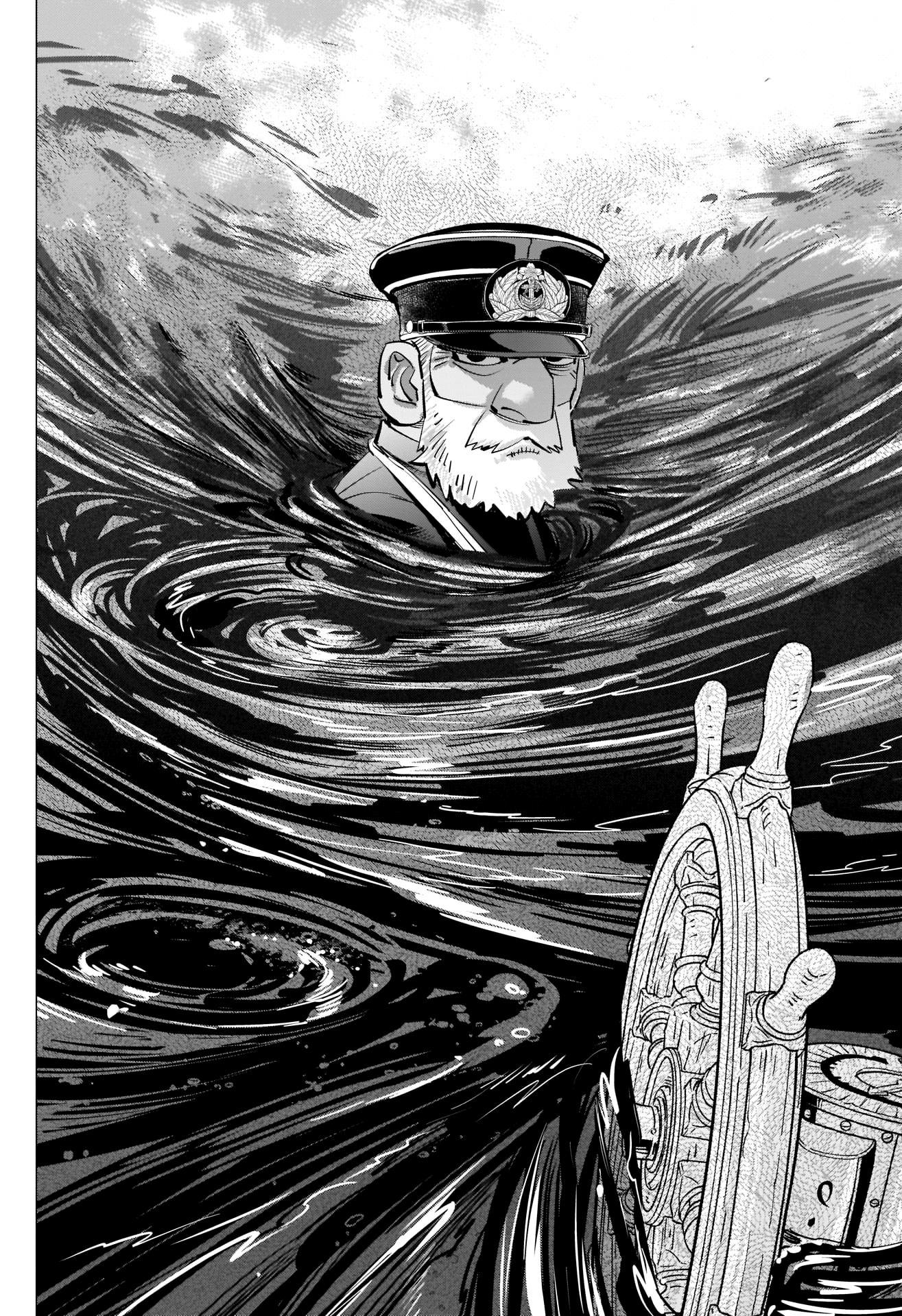 Golden Kamui Chapter 292: The Naval Battle Of Hakodate Bay page 12 - Mangakakalots.com