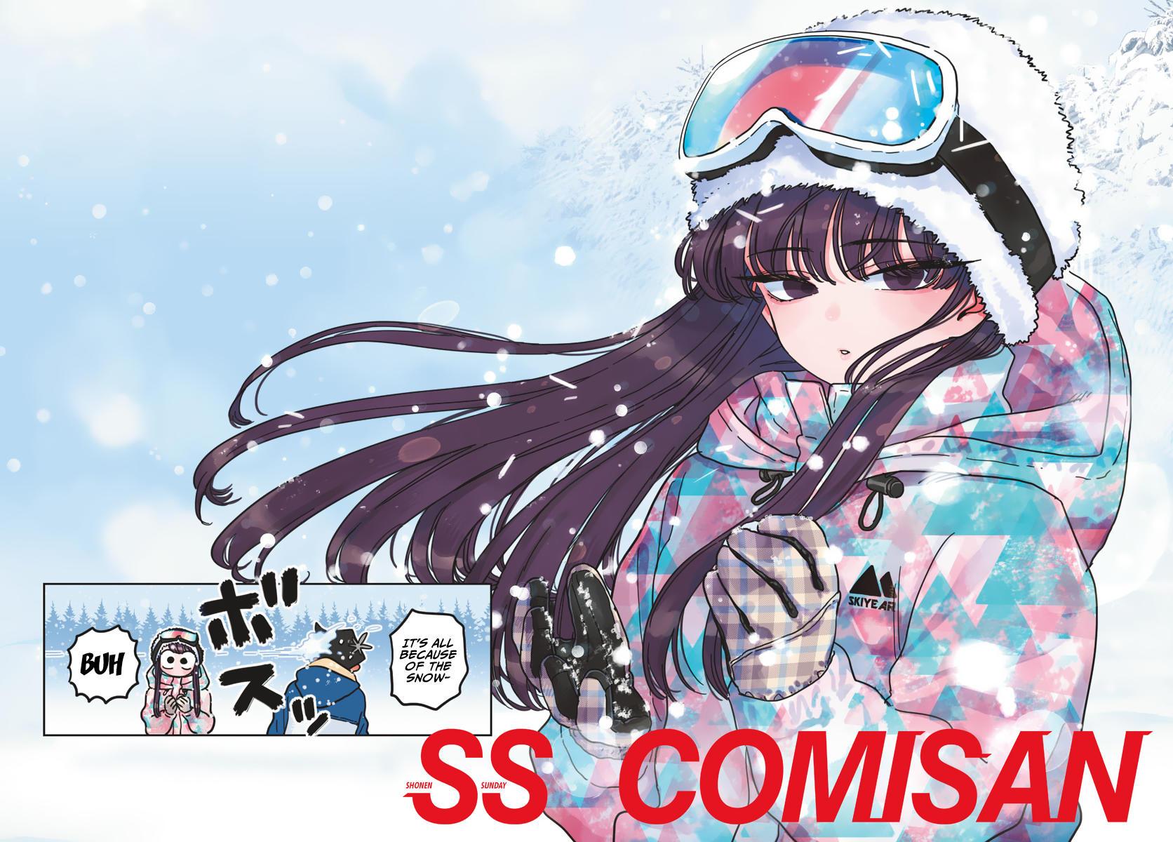 Komi-San Wa Komyushou Desu Chapter 262: Snowboarding 2 page 2 - Mangakakalot