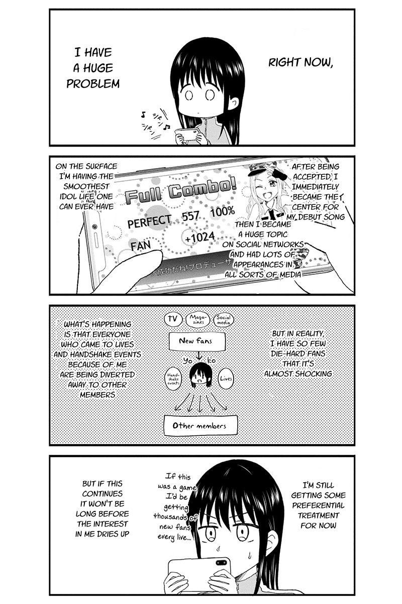 Kimoota, Idol Yarutteyo Chapter 43: Disgusting Otaku Is Worried page 3 - Mangakakalots.com