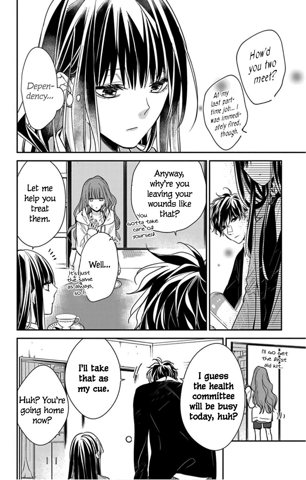 Tsuiraku Jk To Haijin Kyoushi Chapter 38 page 14 - Mangakakalots.com