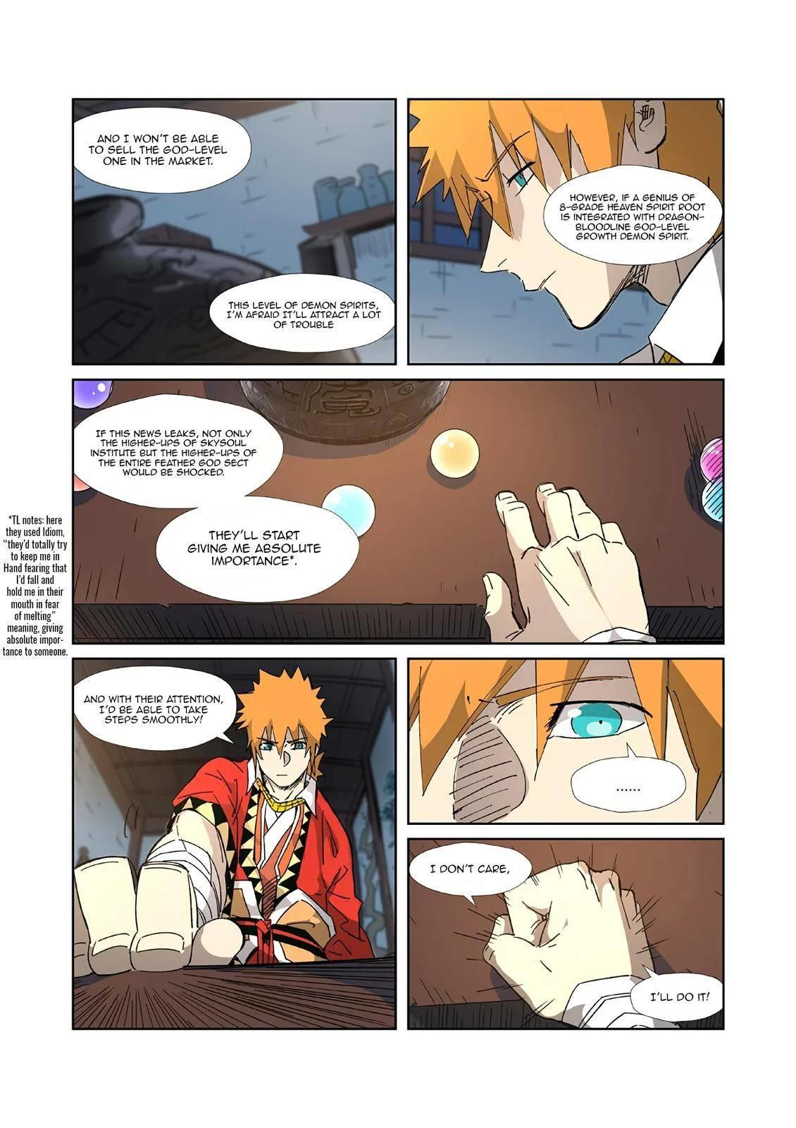 Tales Of Demons And Gods Chapter 332.5 page 4 - Mangakakalots.com
