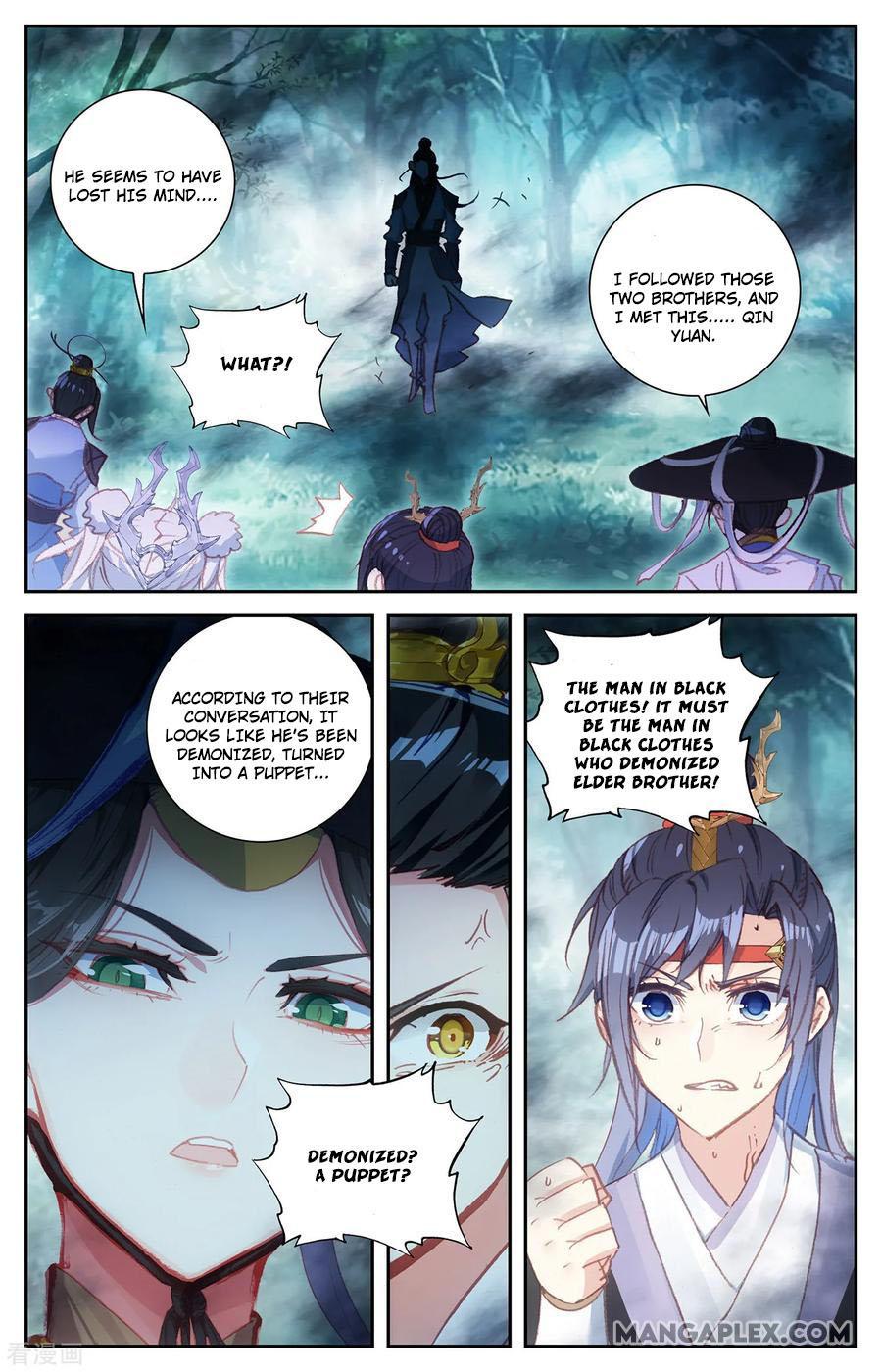 The Heaven's List Chapter 60.5: Three Brothers (2) page 4 - Mangakakalots.com