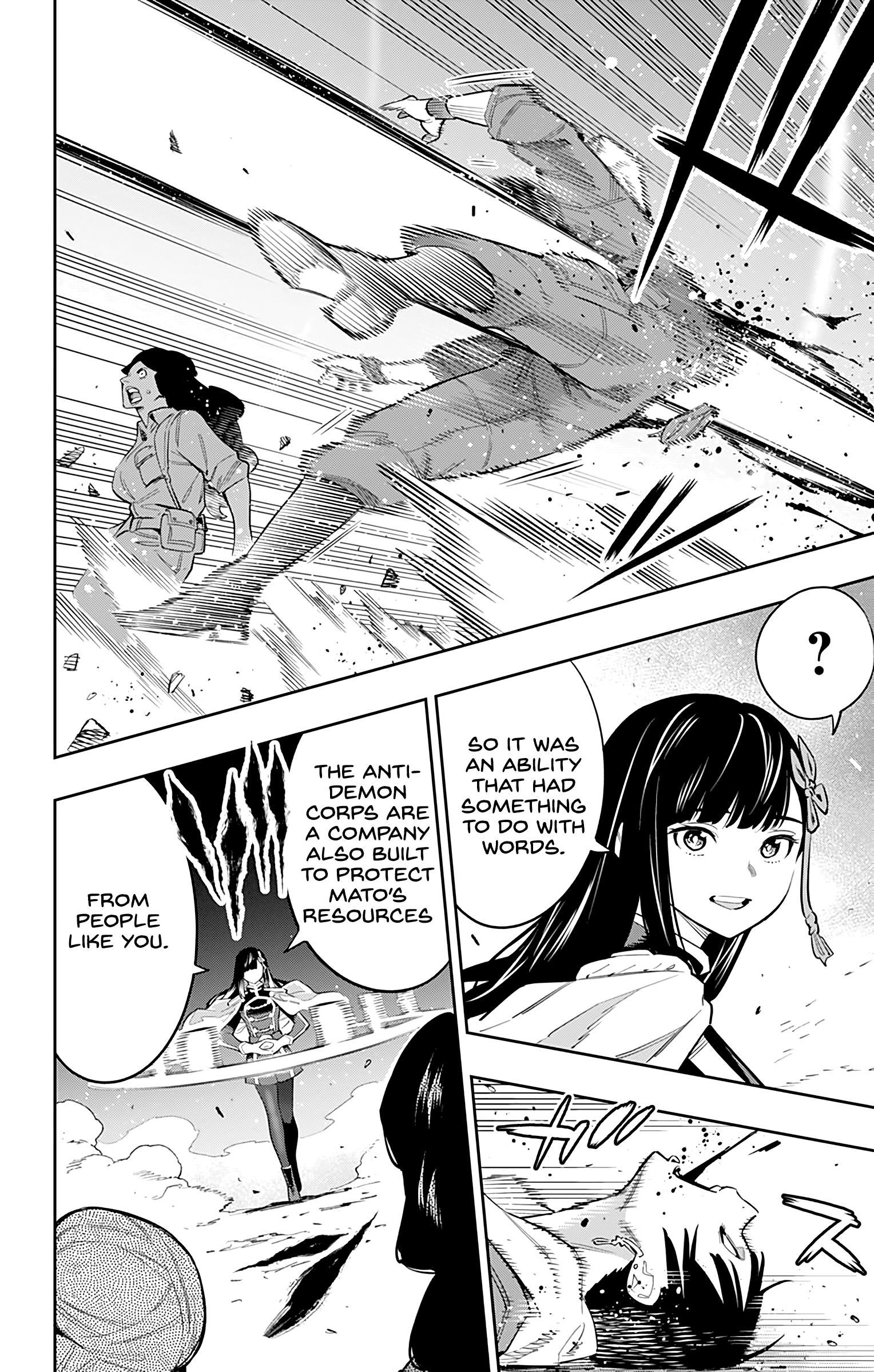 Mato Seihei No Slave Chapter 48: The Commander's Battle page 10 - Mangakakalots.com