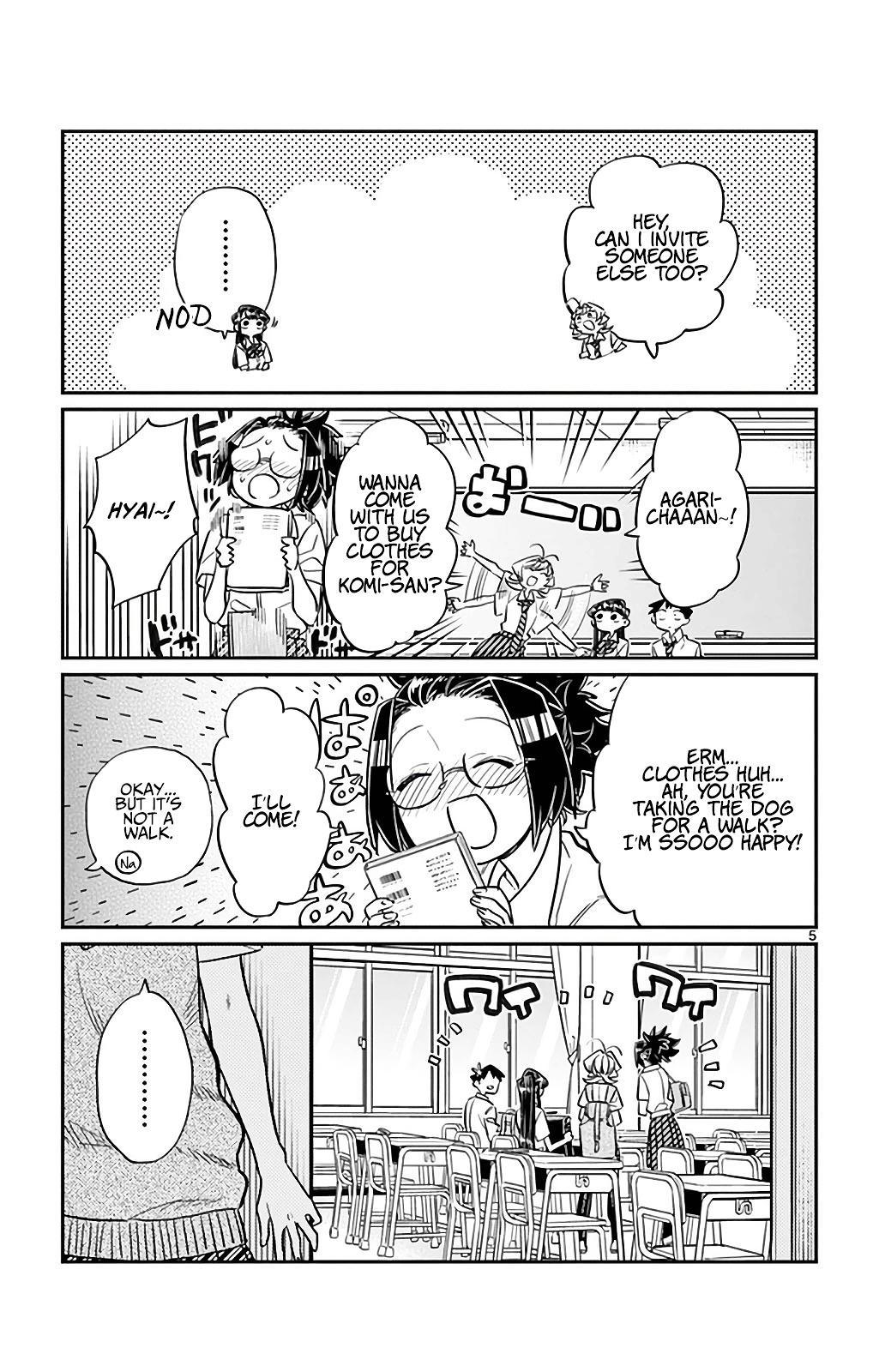 Komi-San Wa Komyushou Desu Vol.2 Chapter 33: It's Shopping Time page 5 - Mangakakalot