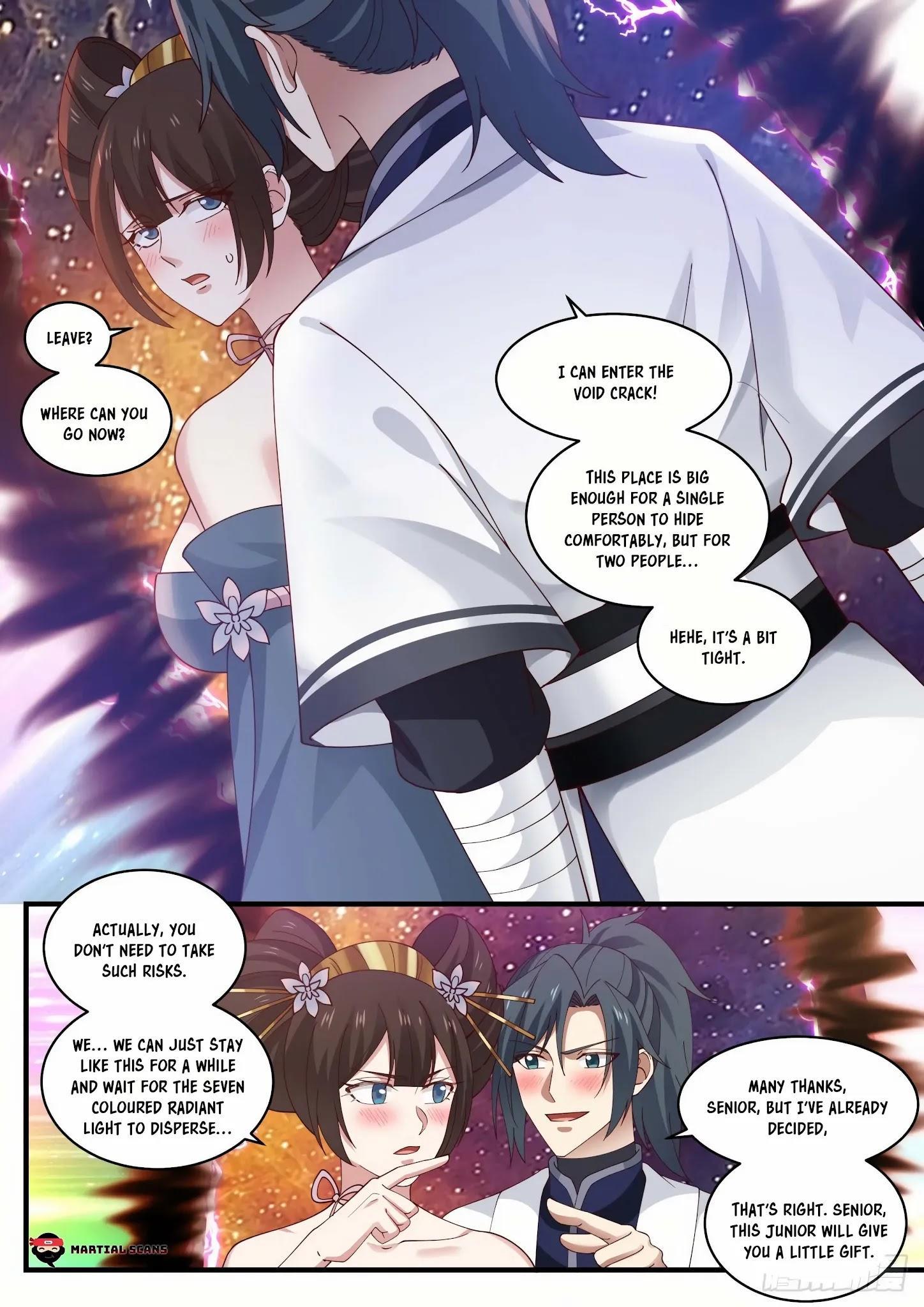 Martial Peak Chapter 1465: A Bit Tight page 9 - Mangakakalot