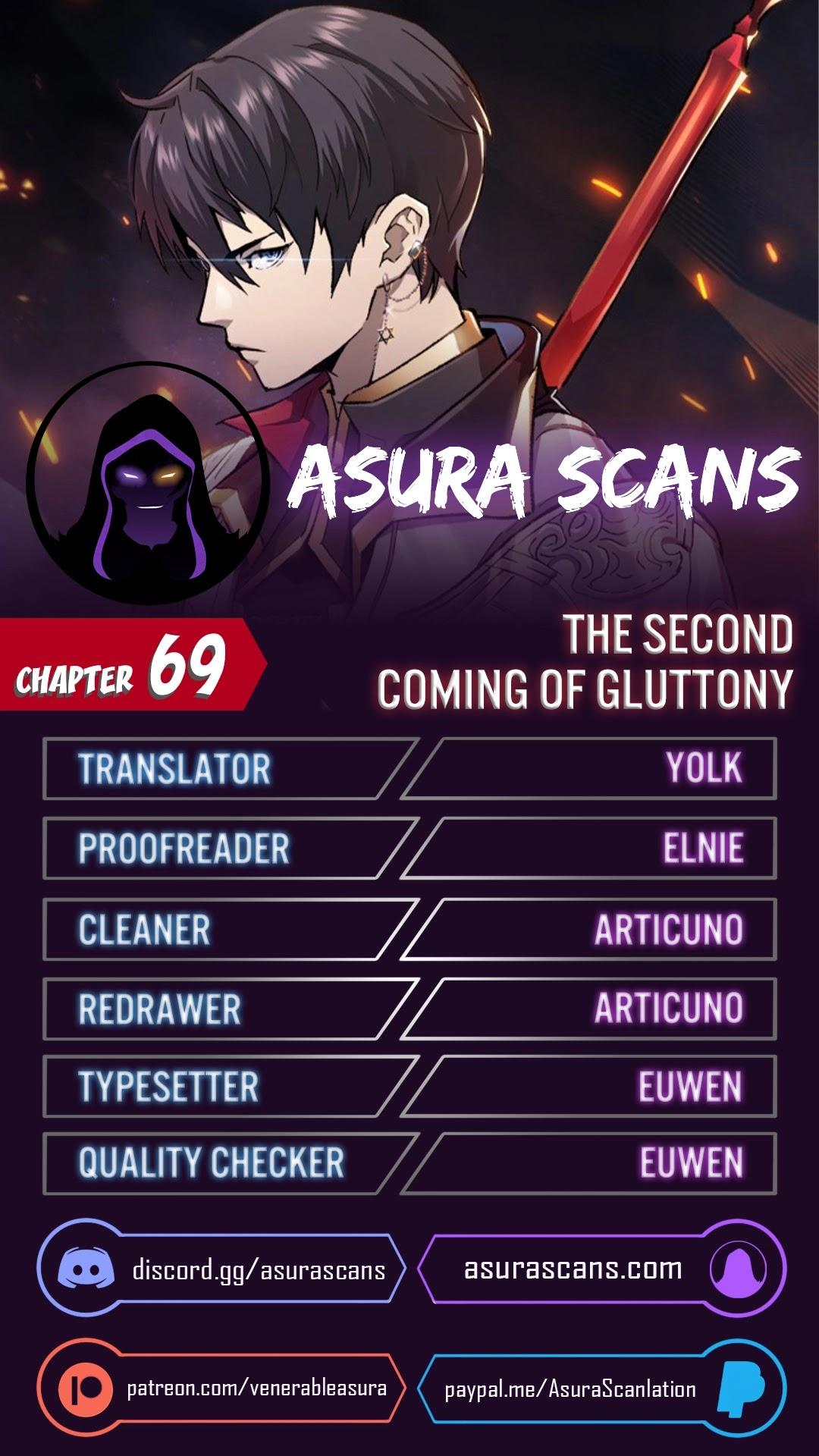 The Second Coming Of Gluttony Chapter 69 page 1 - Mangakakalots.com