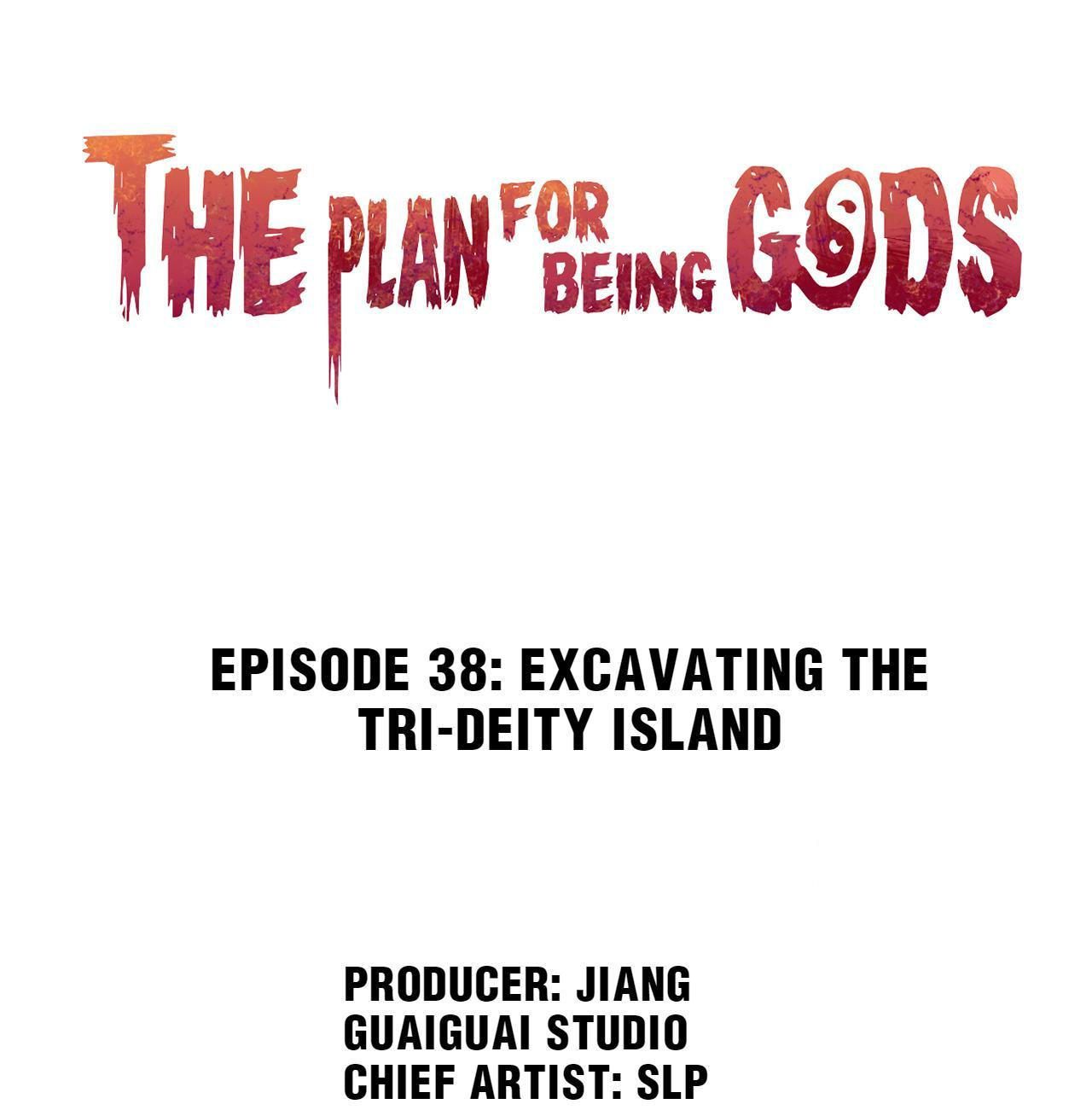 The Plan For Being Gods Chapter 28: Excavating The Tri-Deity Island page 1 - Mangakakalots.com