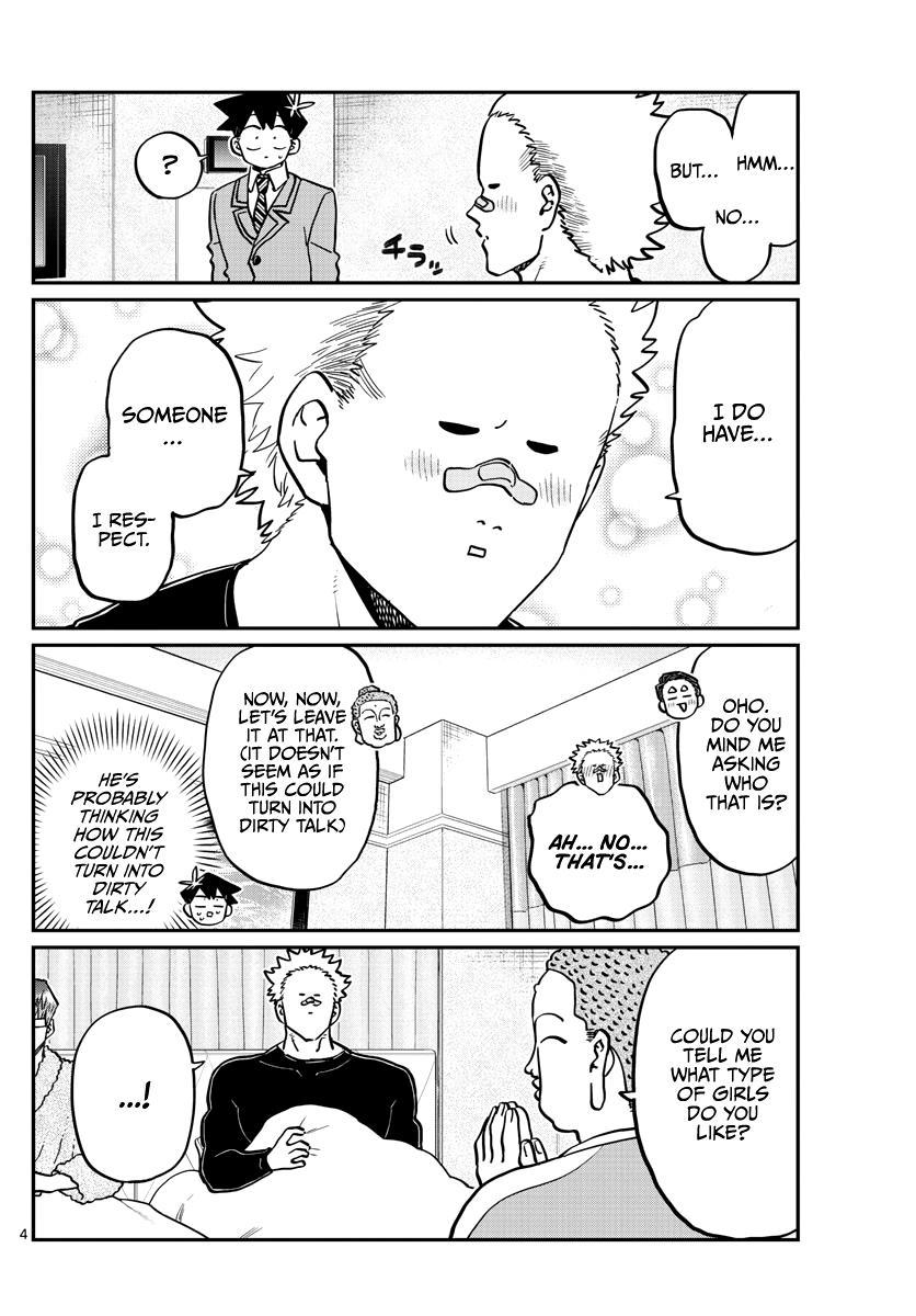 Komi-San Wa Komyushou Desu Chapter 286: Boy's Room page 4 - Mangakakalot