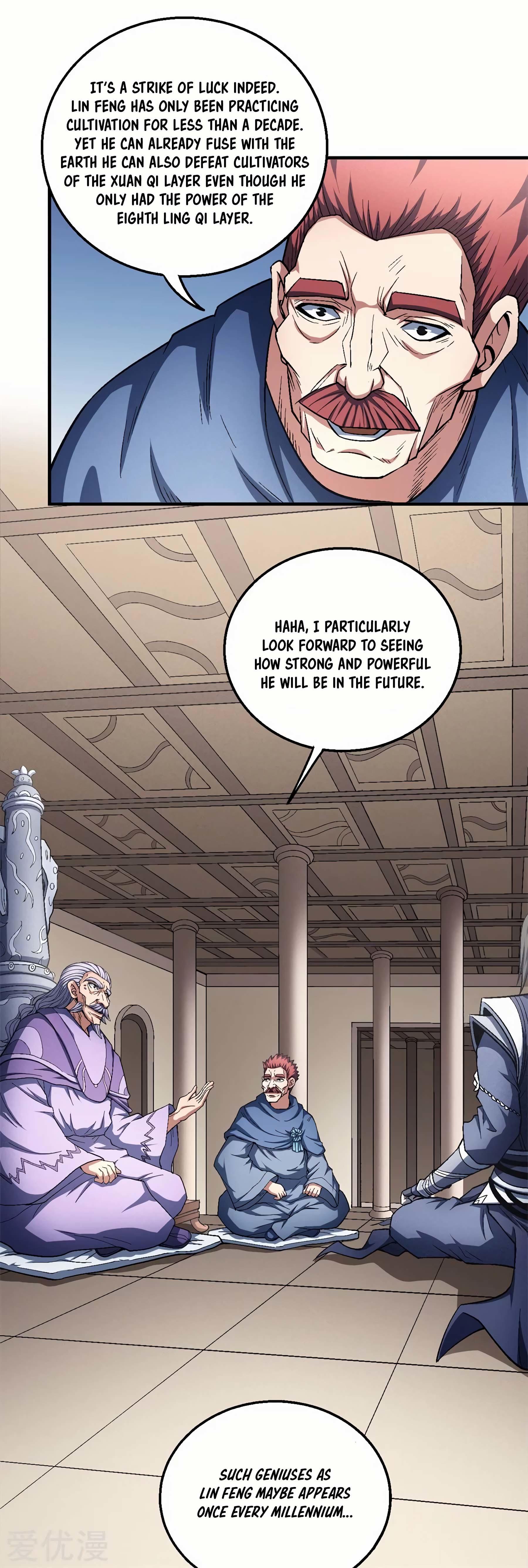 God Of Martial Arts Chapter 127.3: Mister Chi page 19 - Mangakakalots.com
