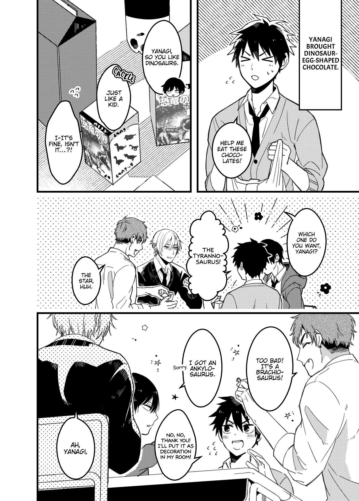 A World Where Everything Definitely Becomes Bl Vs. The Man Who Definitely Doesn't Want To Be In A Bl Volume 2 Chapter 35.6 : Twitter Comics page 18 - Mangakakalots.com
