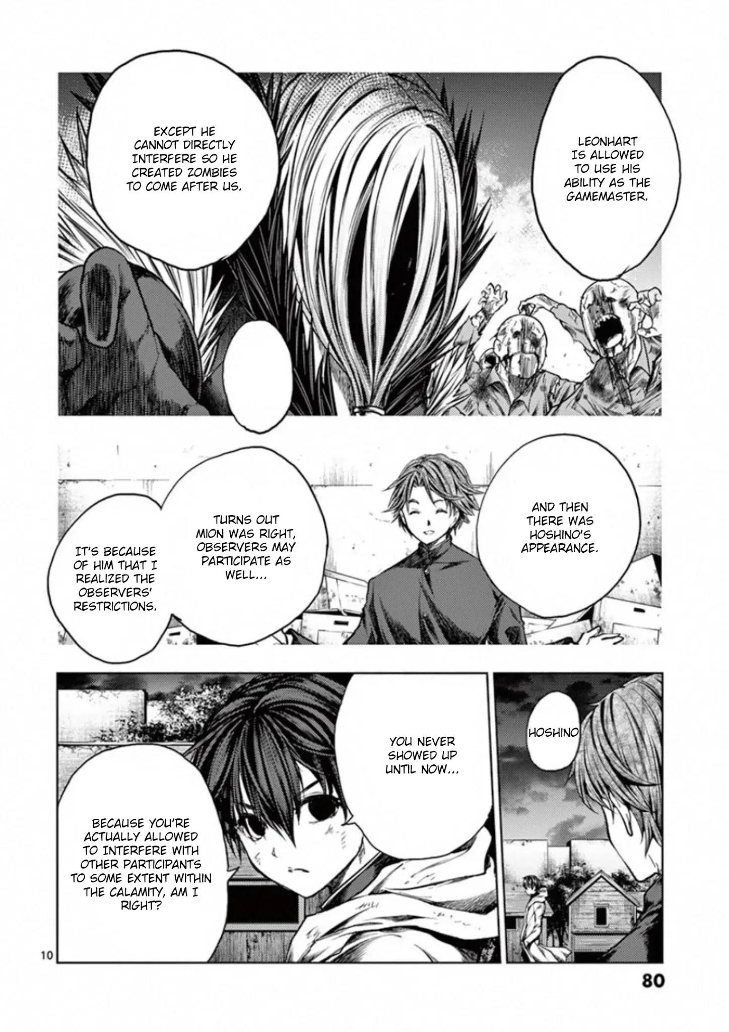 Deatte 5 Byou De Battle Chapter 128: Two Billion Light-Years Of Solitude page 10 - Mangakakalots.com