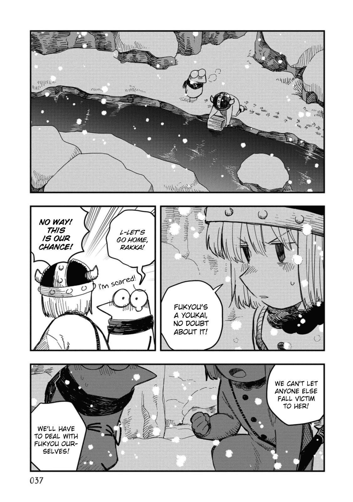 Rojica To Rakkasei Chapter 19: The Mystery Of The Snowy Mountain page 21 - Mangakakalots.com