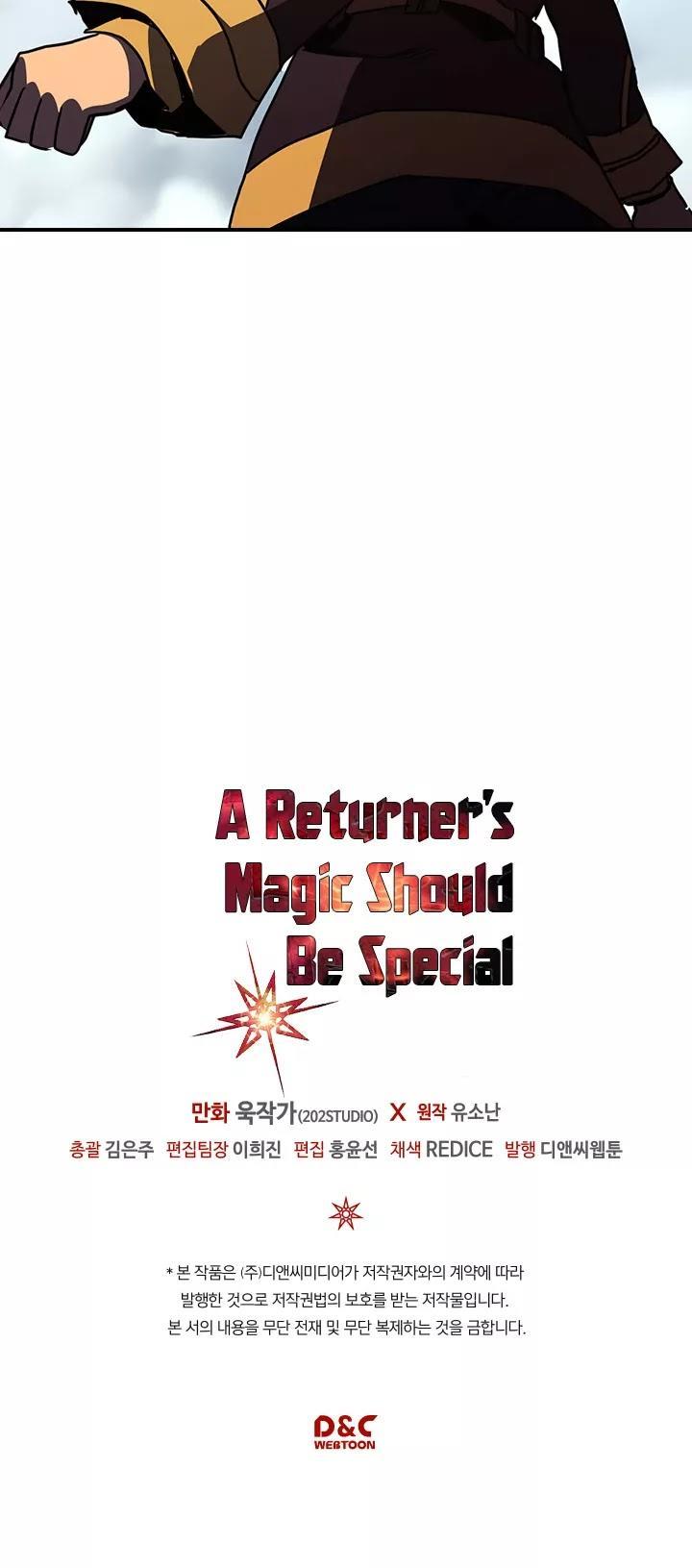 A Returner's Magic Should Be Special Chapter 102 page 46 - Mangakakalots.com