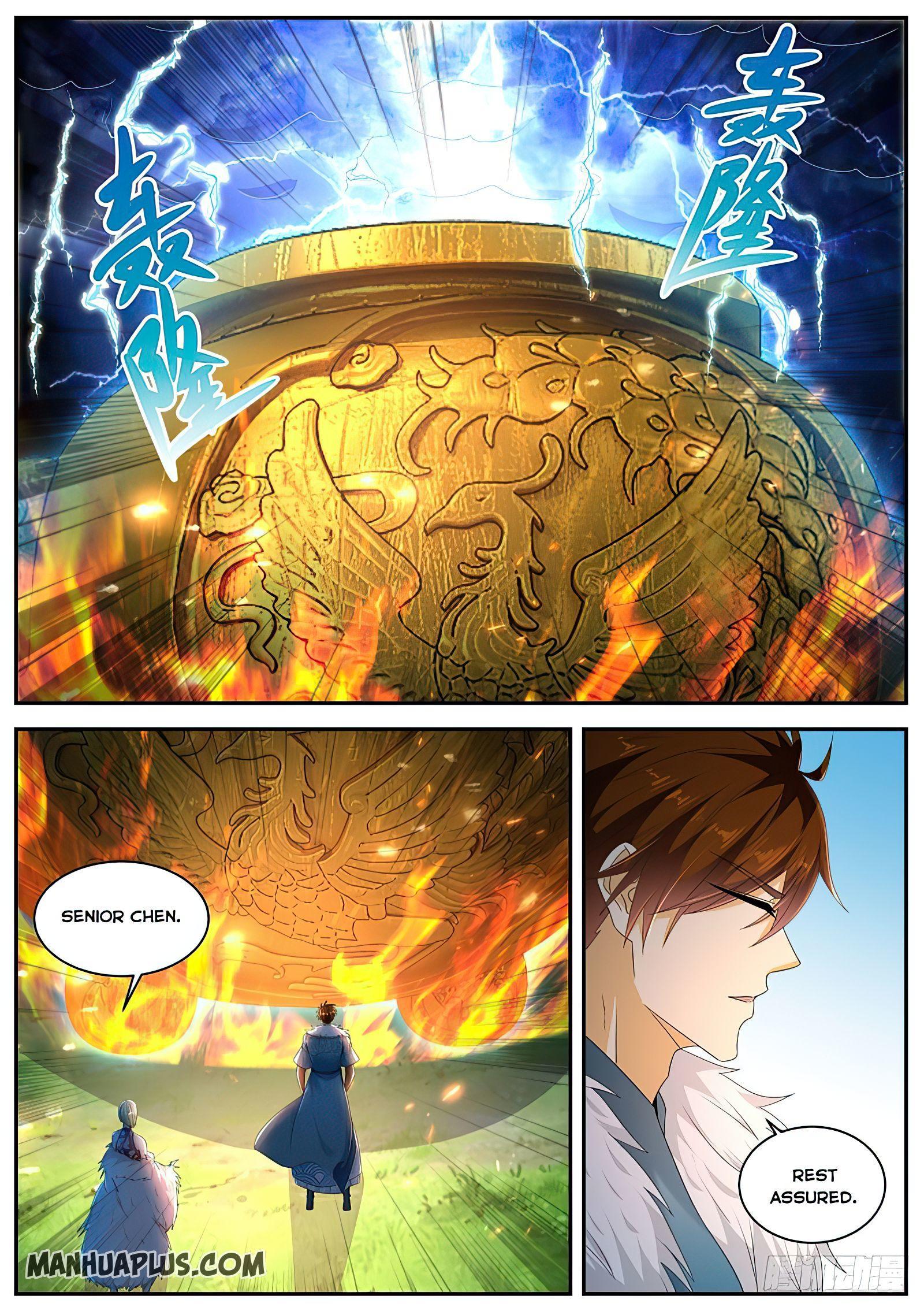 Rebirth Of The Urban Immortal Cultivator Chapter 488 page 9 - Mangakakalots.com