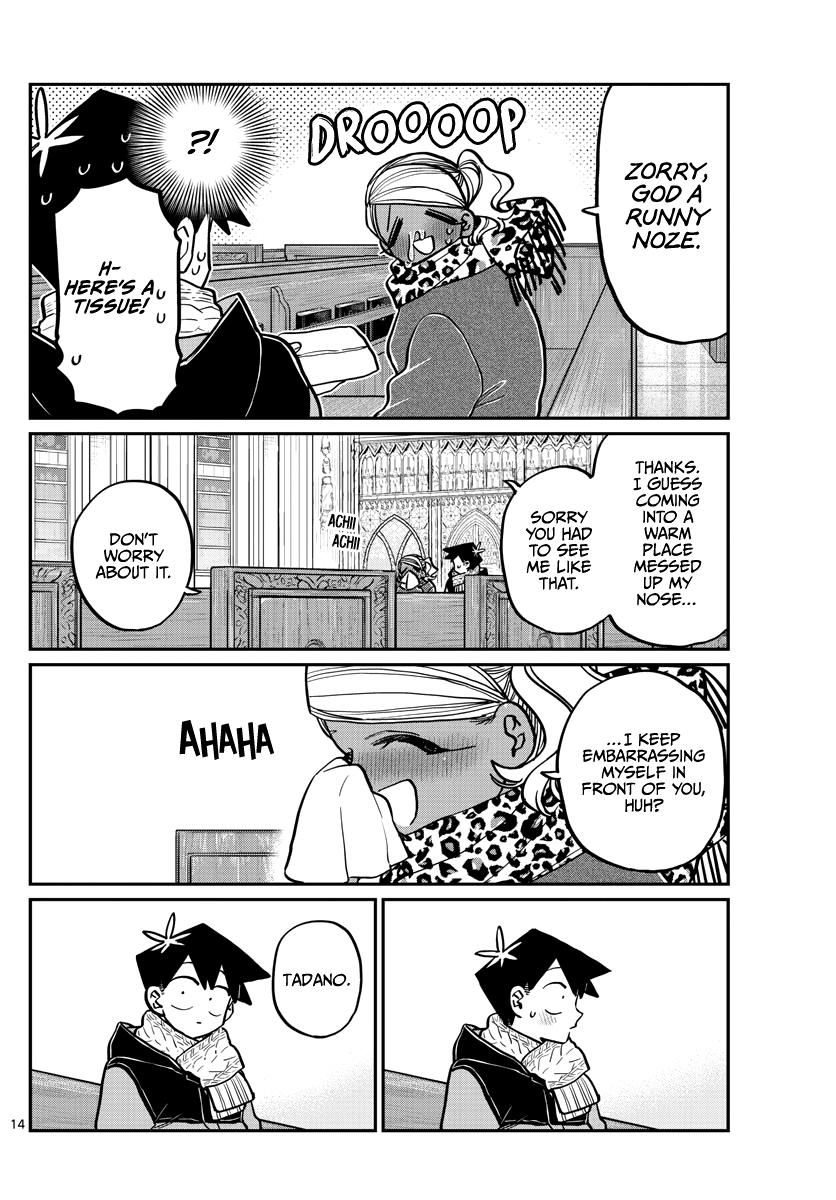 Komi-San Wa Komyushou Desu Chapter 293: Turn This Way. Please. page 14 - Mangakakalots.com