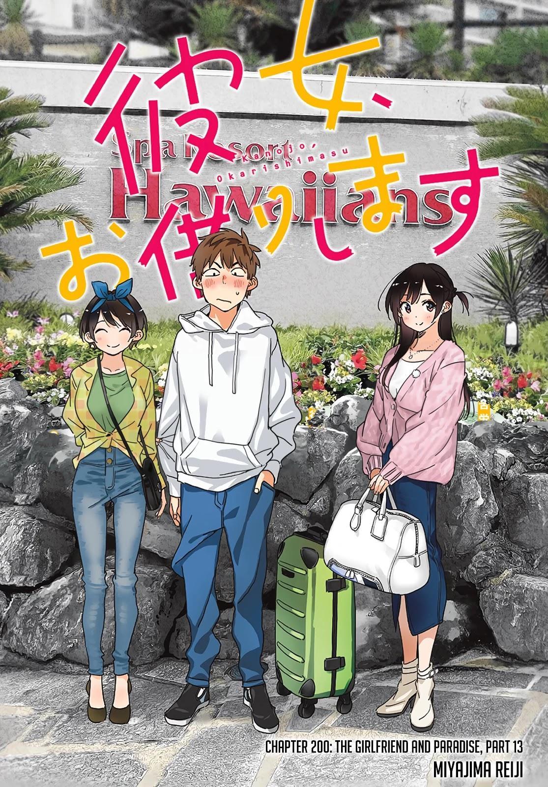 Kanojo, Okarishimasu Chapter 200: The Girlfriend And Paradise (Part 13) page 2 - Mangakakalots.com