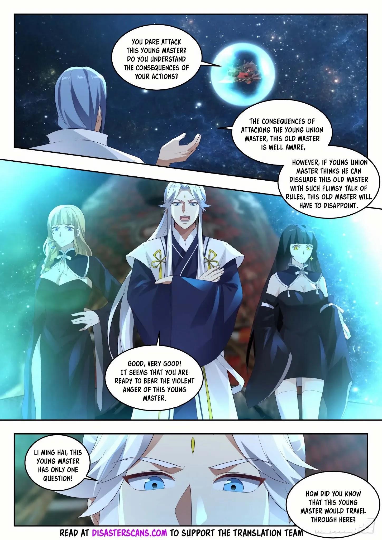 Martial Peak Chapter 1445: Three Swords Brilliance Secret Technique page 7 - Mangakakalot