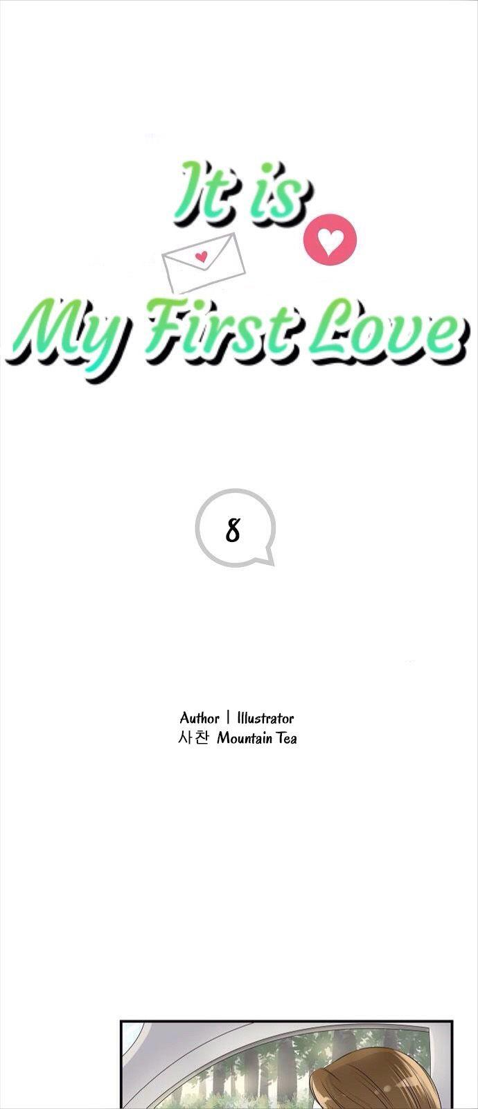 It Is My First Love Chapter 8 page 1 - Mangakakalots.com