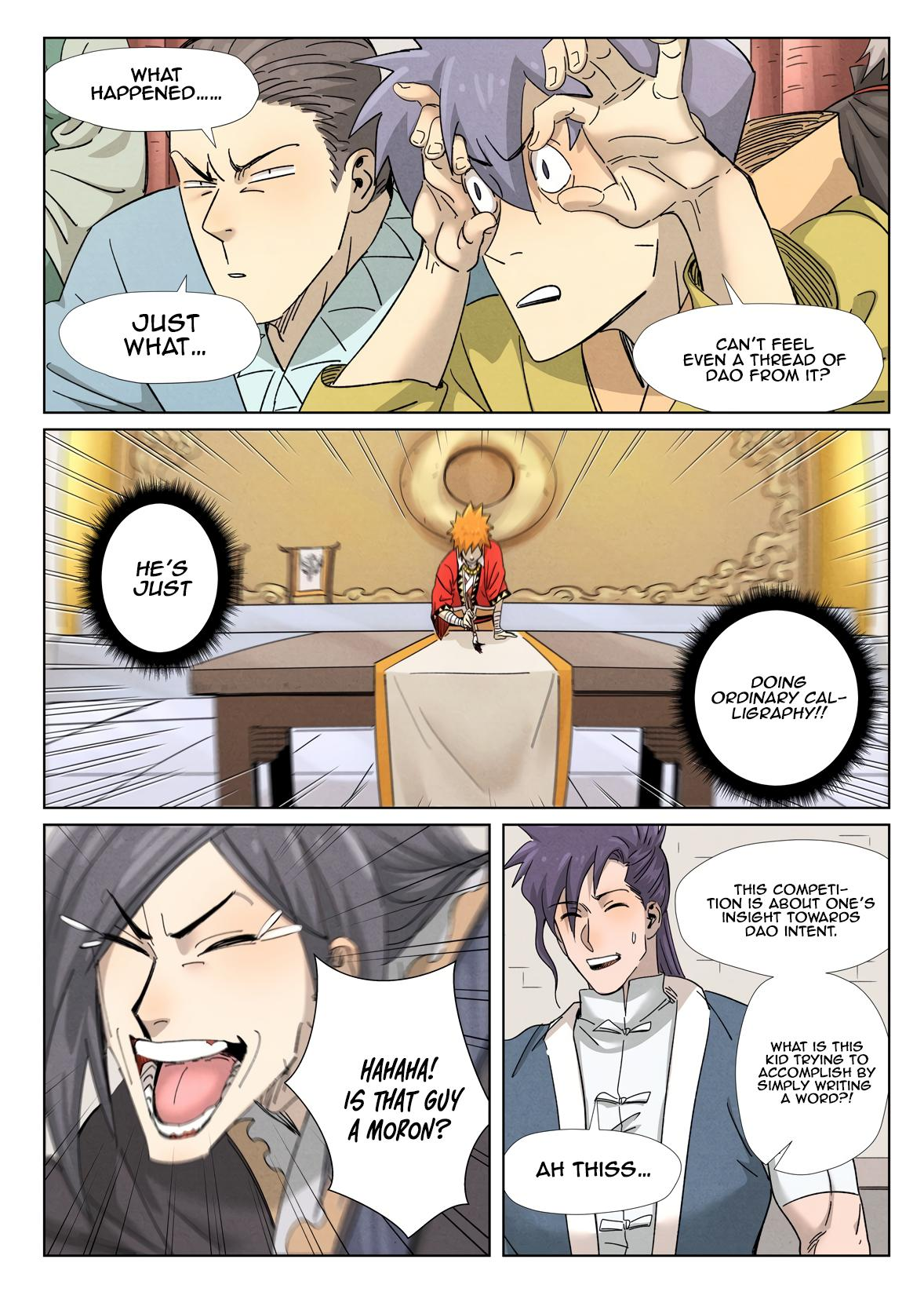 Tales Of Demons And Gods Chapter 341.1 page 8 - Mangakakalot