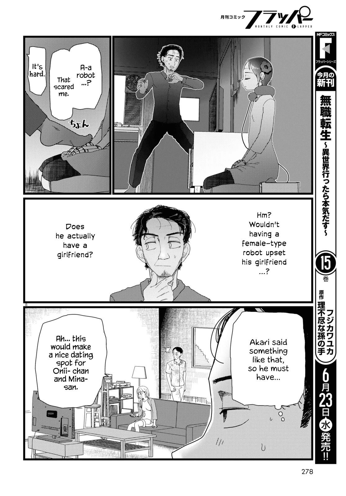 Boku No Tsuma Wa Kanjou Ga Nai Chapter 22 page 8 - Mangakakalots.com