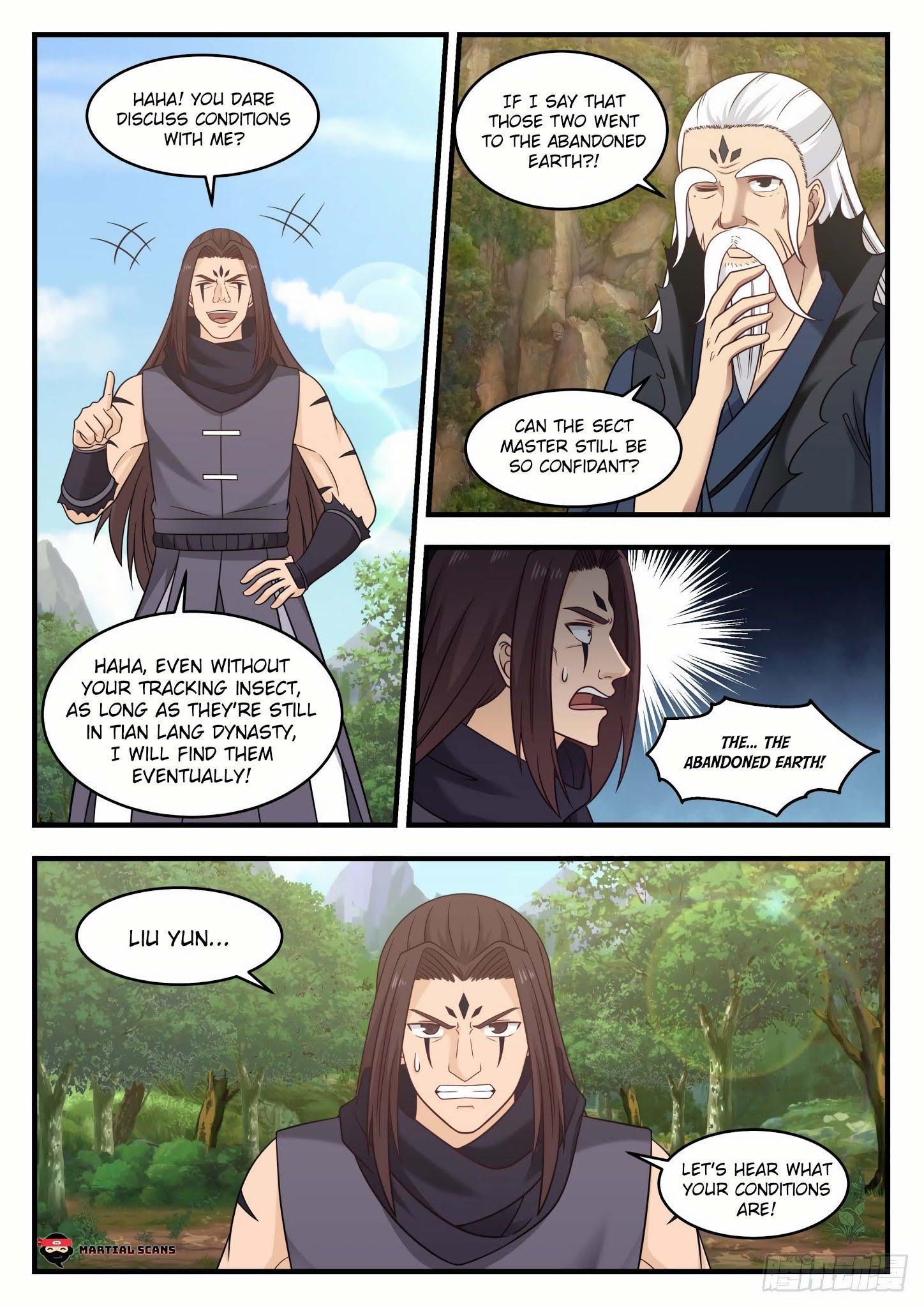 Martial Peak Chapter 583 - Abandoned Earth page 8 - Mangakakalots.com