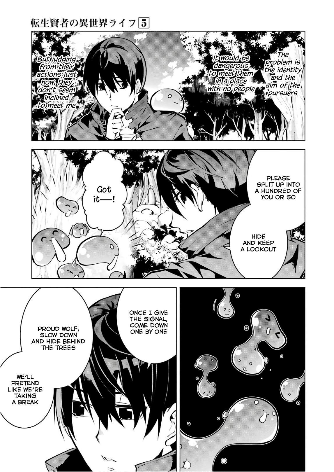 Tensei Kenja No Isekai Raifu ~Daini No Shokugyo Wo Ete, Sekai Saikyou Ni Narimashita~ Vol.5 Chapter 15: I Was Being Pursued page 11 - Mangakakalots.com