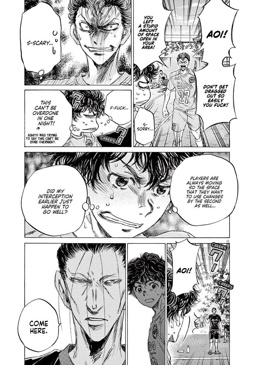 Ao Ashi Vol.8 Chapter 78: Two Instructions page 11 - Mangakakalots.com