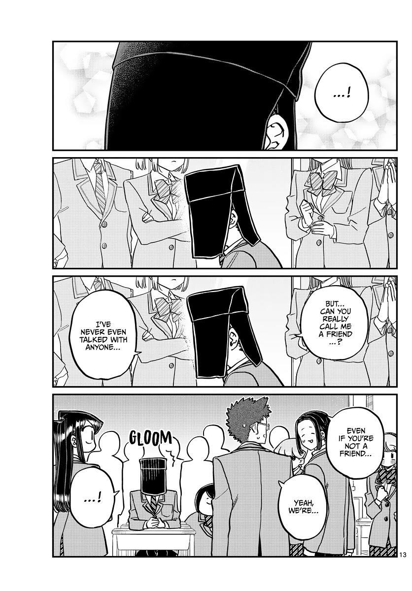 Komi-San Wa Komyushou Desu Chapter 323: Second Year Graduation Ceremony page 13 - Mangakakalots.com