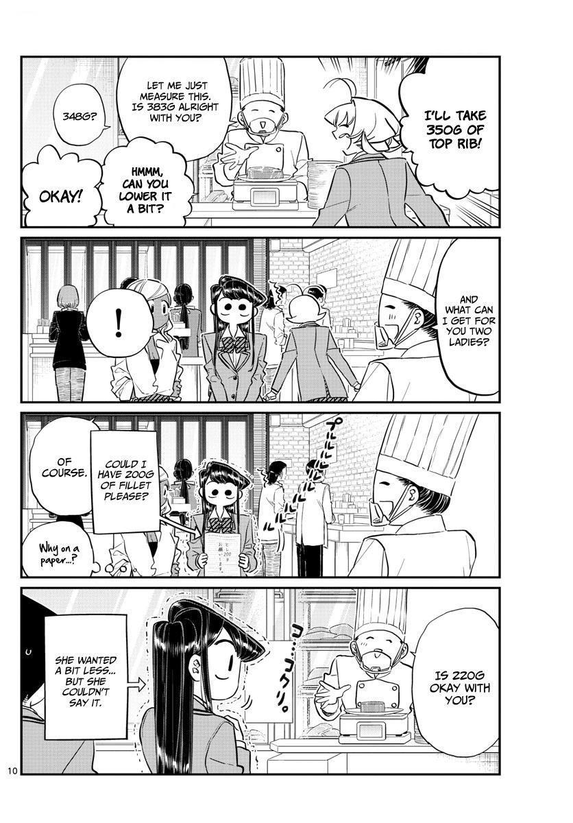 Komi-San Wa Komyushou Desu Vol.10 Chapter 139: Suddenly page 10 - Mangakakalot