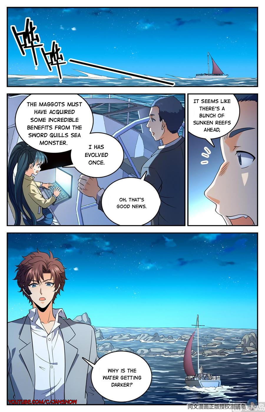 Versatile Mage Chapter 648 page 3 - Mangakakalots.com