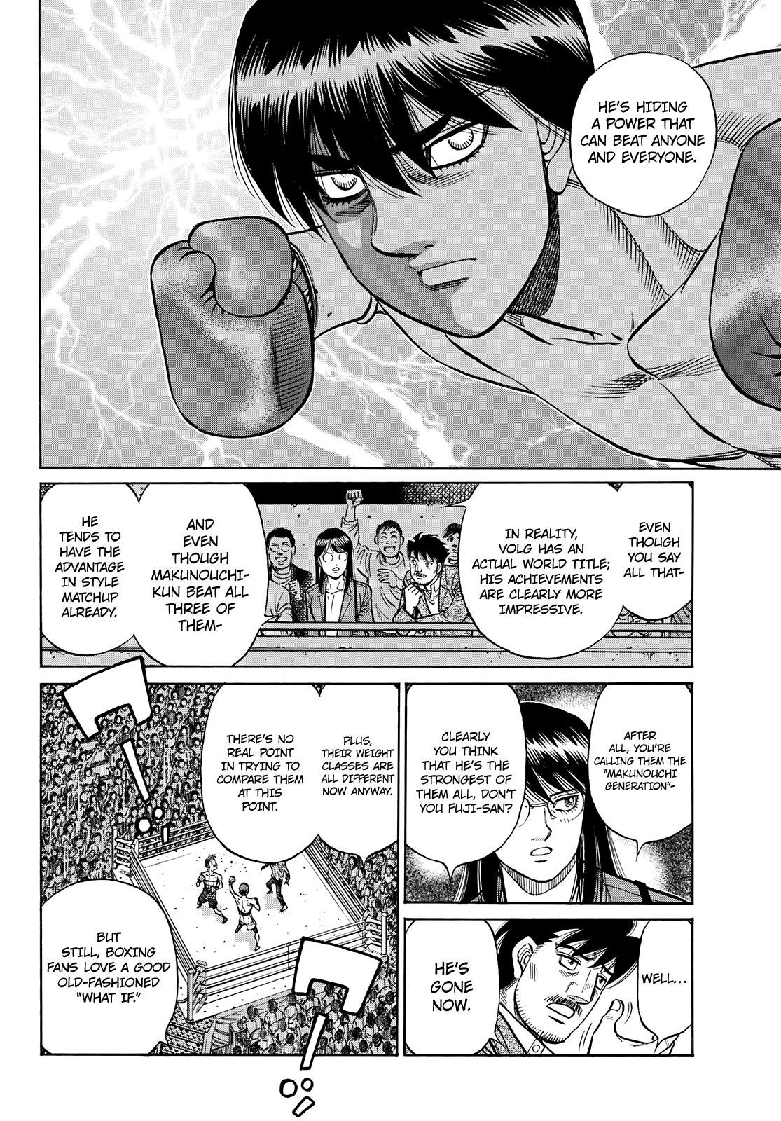 Hajime No Ippo Chapter 1351: The Makunouchi Generation page 11 - Mangakakalots.com