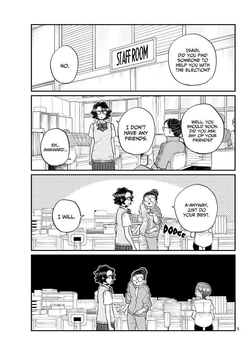 Komi-San Wa Komyushou Desu Chapter 196: Clean page 5 - Mangakakalot