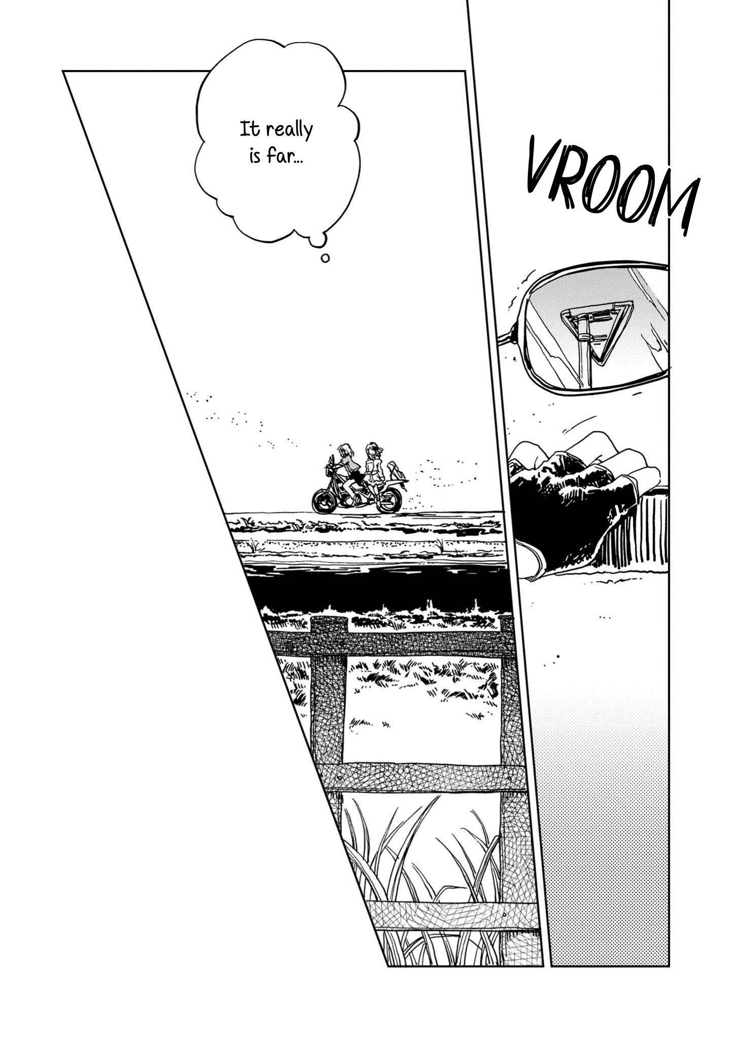 Good-Bye Dystopia Chapter 5: Look Both Ways, Always page 34 - Mangakakalots.com