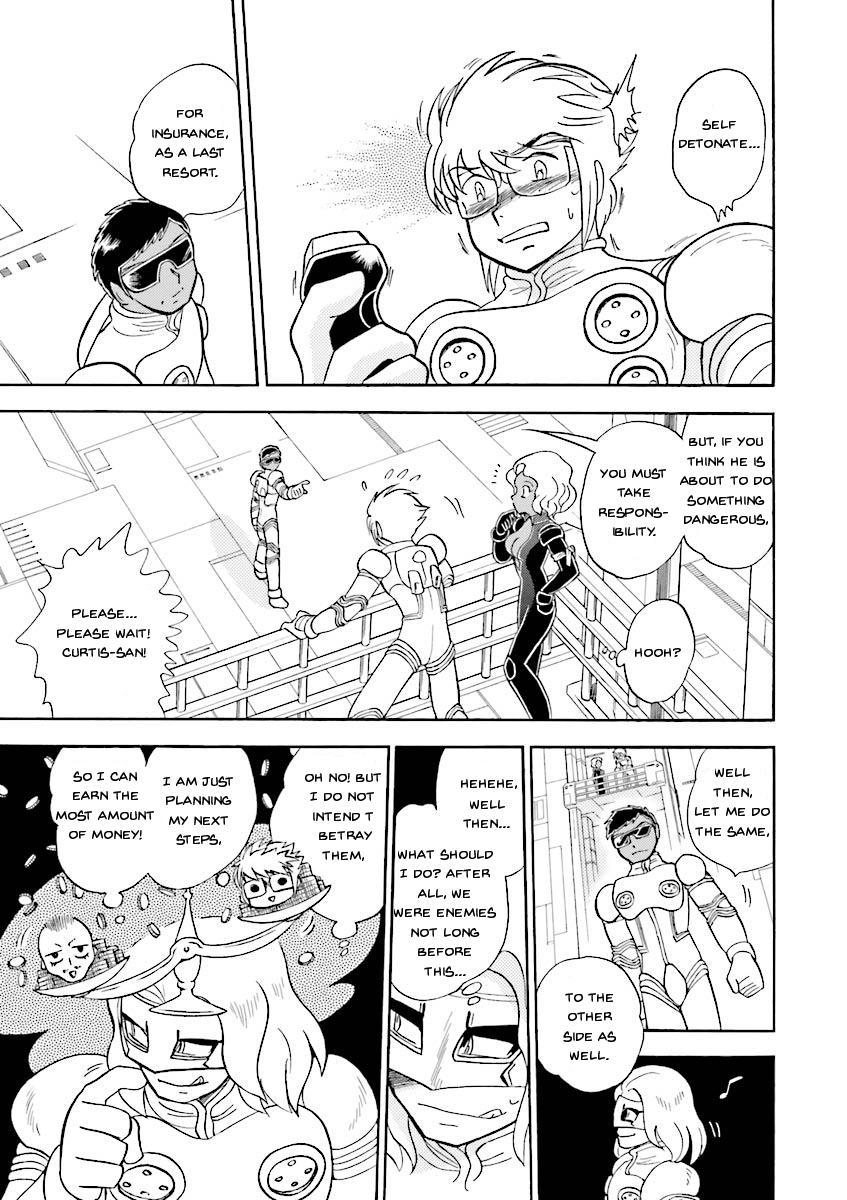 Kidou Senshi Crossbone Gundam Ghost Vol.5 Chapter 19: Jaburo's Thunderclap page 11 - Mangakakalots.com
