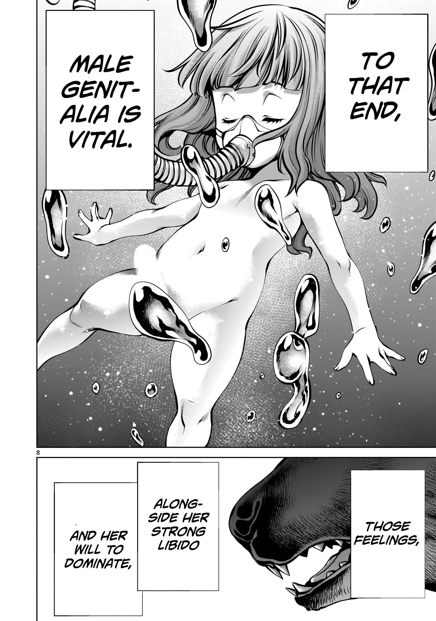 "Killing Bites Chapter 87: ""you Are Not A Warrior"" page 8 - Mangakakalots.com"
