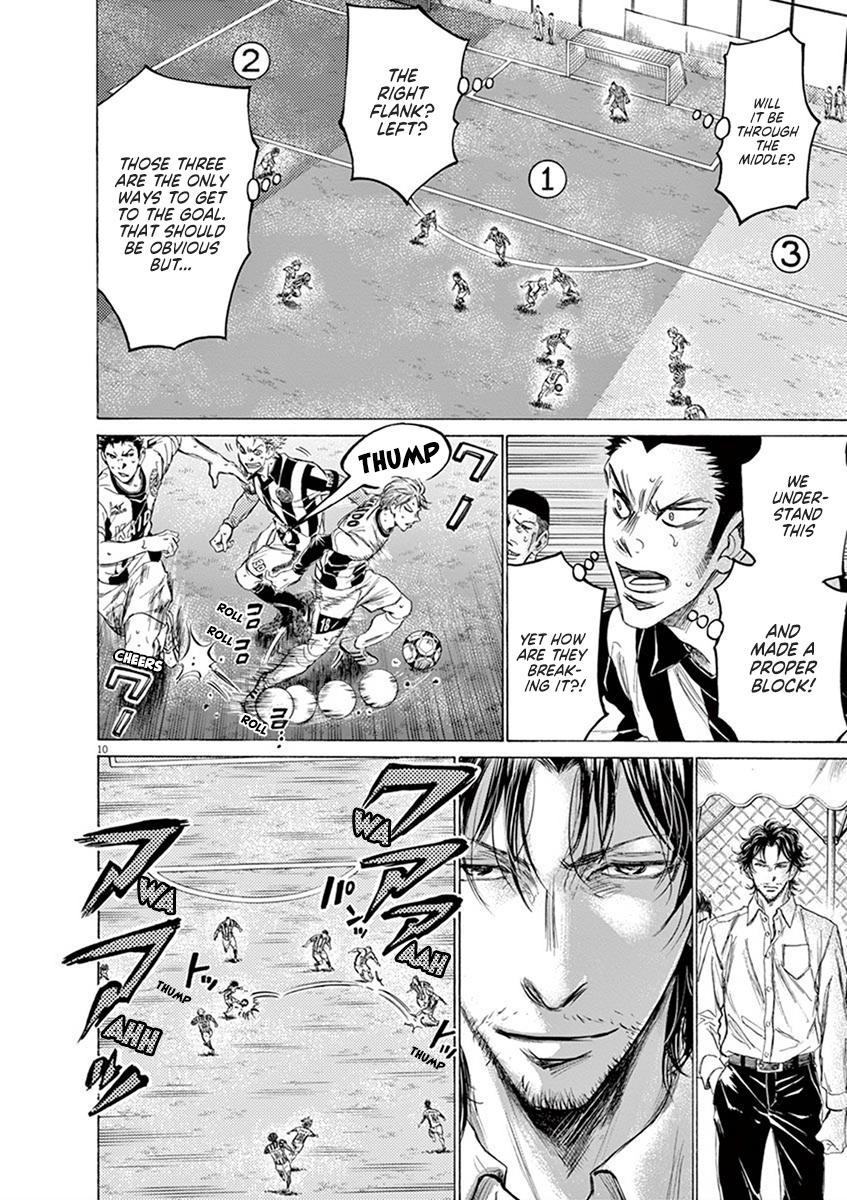 Ao Ashi Vol.18 Chapter 184: Takasugi And Resolute Solidarity page 10 - Mangakakalots.com