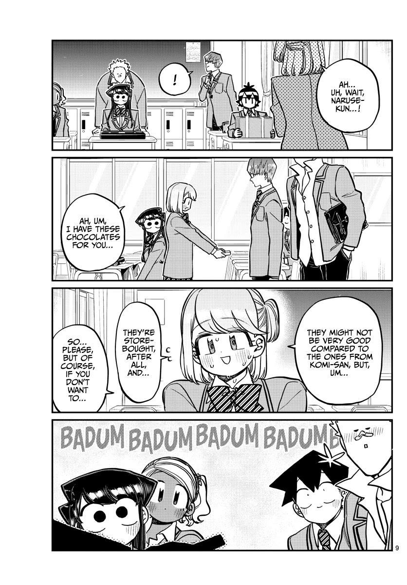 Komi-San Wa Komyushou Desu Chapter 299: Valentine's Day, Second Year Edition page 9 - Mangakakalot