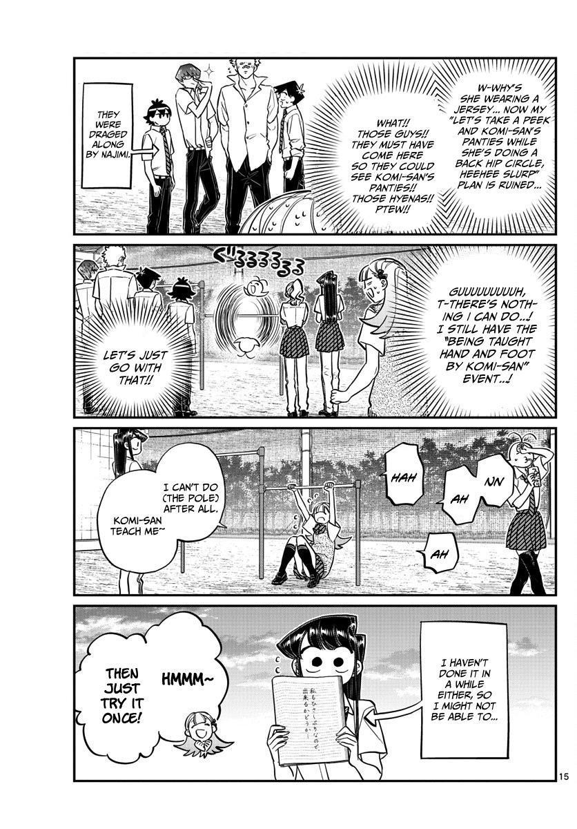 Komi-San Wa Komyushou Desu Vol.11 Chapter 157: Back Hip Circle page 4 - Mangakakalot