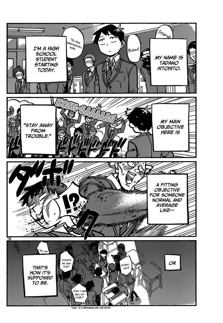 Komi-San Wa Komyushou Desu Vol.1 Chapter 4: Bad At This page 2 - Mangakakalot