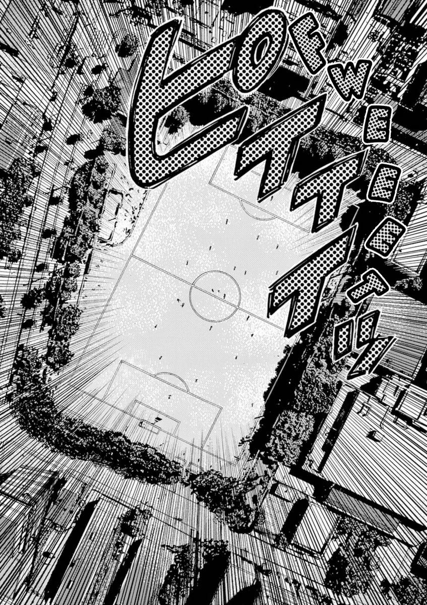 Ao Ashi Vol.9 Chapter 94: Tokyo Division League Eight Match: Vs. Tokyo Musashino Club Youyh page 8 - Mangakakalots.com