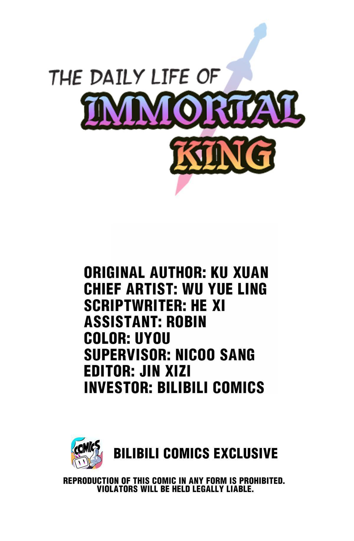 The Daily Life Of Immortal King Chapter 33: A Fool's End page 1 - Mangakakalots.com